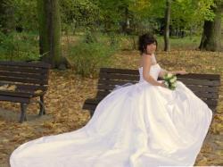 Biała suknia ślubna Sincerity 3112