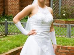 Biała suknia ślubna TANIO