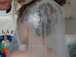 Biała suknia ślubna z DOMU MODY GISELLE