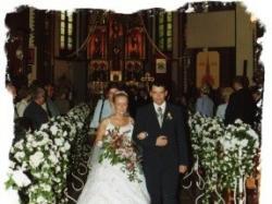 Biała suknia ślubna z salonu AGORA