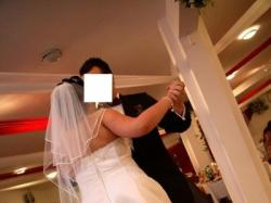 Białą suknia z salonu Carmen