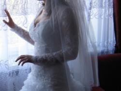 biala Tricorico firmy MARGARET szyta na zamowienie  NOWA