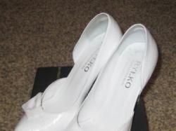 Białe buty RYŁKO 36,5-37 STAN IDEALNY !!!