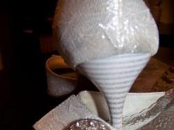 Biało srebrne buty na ślub i inne okazje!!!