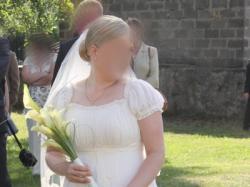 Biancaneve 517 suknię ślubną typu józefinka sprzedam