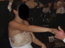 Biel ecru capucino piękna suknia ślubna!