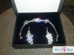 Biżuteria ślubna Aleksandra Swarovski