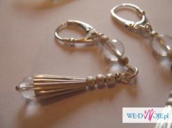 biżuteria ślubna  srebrna artystyczna