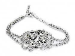 Biżutrria ślubna, modna, elegancka, oryginalna, czeska, z kamieniami Swarovskiego
