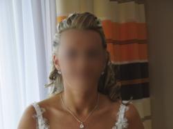 Błyszcząca suknia ślubna MS Moda