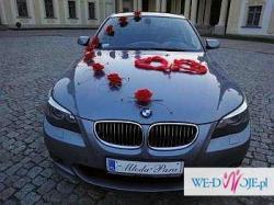 BMW 545i V8 - Ekskluzywna Limuzyna do Ślubu ! Auto do Ślubu.