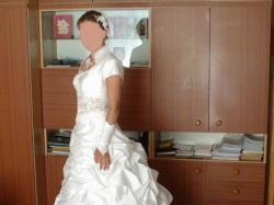Bogata biała suknia Irmina