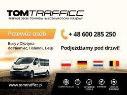 Busy Olsztyn Holandia - Przewóz osób Tomtrafficc