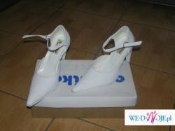 buty  białe