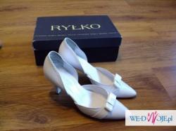 buty białe RYŁKO