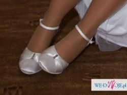 buty satynowe