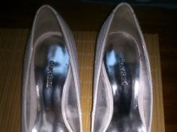 buty ślubne 37 śmietankowe