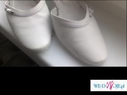 Buty ślubne białe