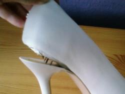 Buty ślubne białe Menbur rozmiar 37
