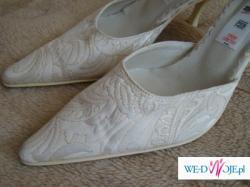 buty śłubne ecru 37