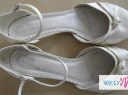 Buty ślubne ecru 40