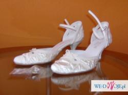 Buty ślubne-ecru/rozmiar 36/obcas 6cm
