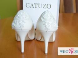 buty ślubne ivory 38 GATUZO