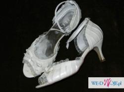 Buty ślubne Lilly kolor ecru, rozmiar 39