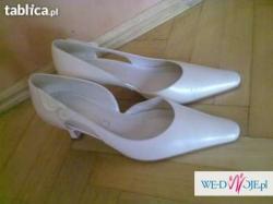 Buty ślubne ( nowe ) rozmiar 39/40