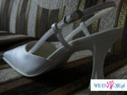 Buty ślubne o rozmiarze 37
