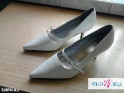 Buty ślubne r.39