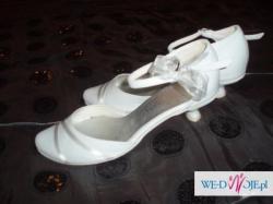 Buty ślubne rozmiar 38, stan idealny!
