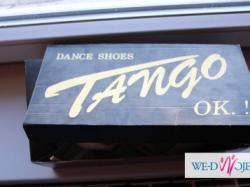BUTY ŚLUBNE TANECZNE TANGO!!!OKAZJA!!!