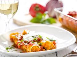 Cannelloni z czerwoną soczewicą – przepis
