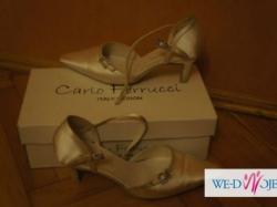 Carlo Ferrucci buty skórzane IVORY skóra wygoda