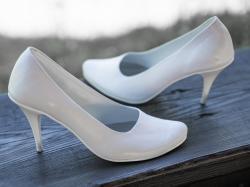 CASANI obuwie do ślubu na miarę płaskie niskie szpilki