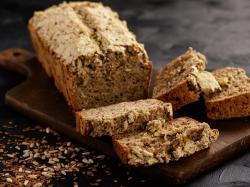 Chleb gryczany z sezamem