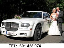 Chrysler 300c limuzyna na wesele ,do ślubu Ślask