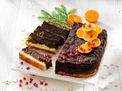 Ciasto w wersji fit: makowiec z granatem