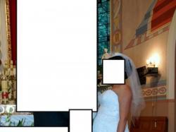 Ciążowa suknia ślubna Koronkowa