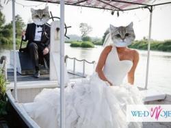 CO JA PACZE? Szczęśliwa suknia ślubna z salonu Madonna
