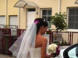 Cudna suknia ślubna a la rybka