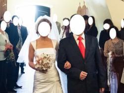 Cudna Suknia ślubna Ronald Joyce+ GRATISY