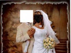 Cudna suknia ślubna z cyrkoniami