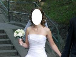 Cudna suknia ślubna z salonu Lisa Ferrera Gdynia!