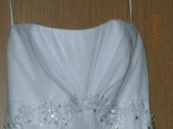 Cudną suknię ślubną -SPRZEDAM