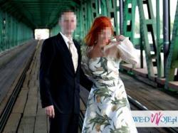 cudowana i oryginalna suknia slubna