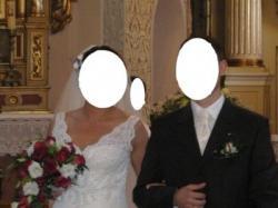 Cudowna koronkowa suknia ślubna
