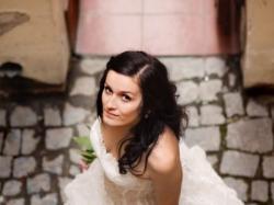 Cudowna oryginalna suknia ślubna PARIS FARAGE!!!
