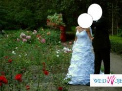 Cudowna, śnieżno biała Suknia ślubna